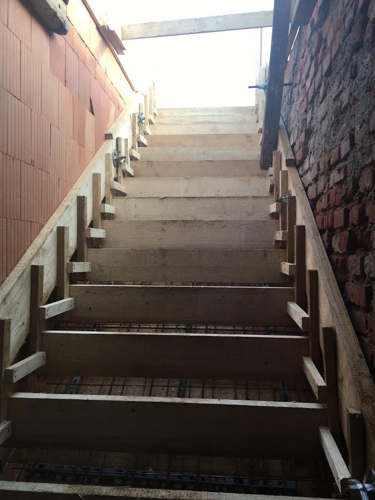 Treppe Schalung