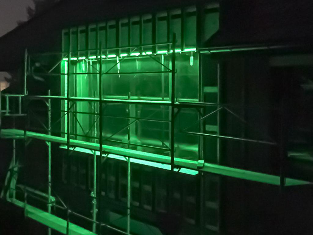 LED Streifen Beleuchtung Fenster