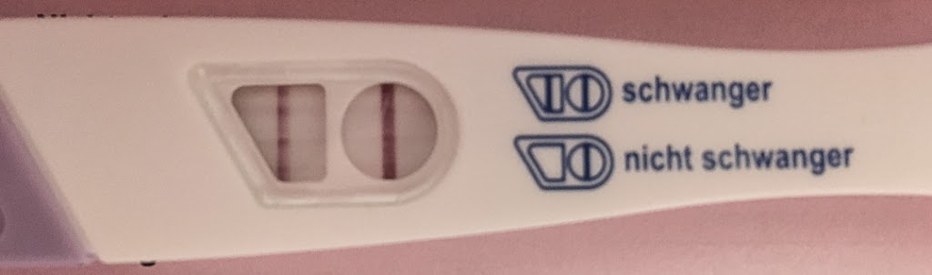 positiver Schwangerschaftstest nach IVF