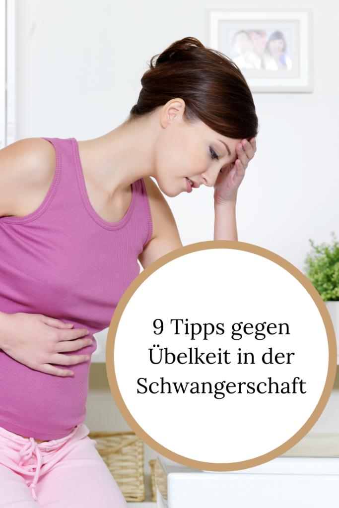 Tipps gegen Übelkeit in der Schwangerschaft