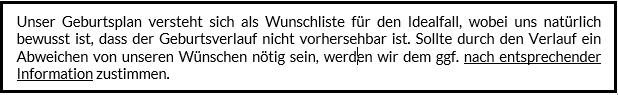 Geburtsplan_Wunschliste_Abweichen_Idealfall